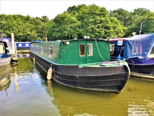 Wide Beam Narrowboat Piper Boats 60' x 10'