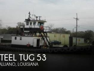 Steel Tug 53 Tug Tow Support Vessel CN