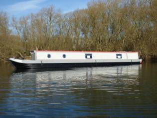 Narrowboat 57' Stem to Stern Semi Trad