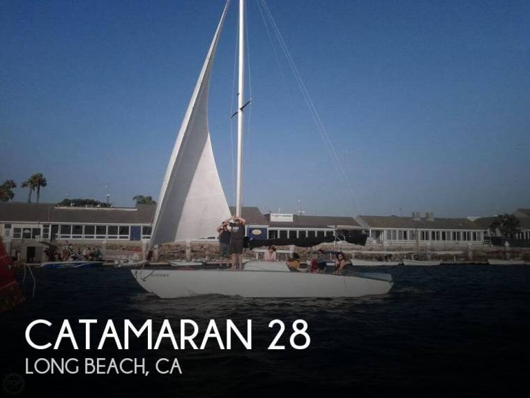 custom 28 catamaran en florida