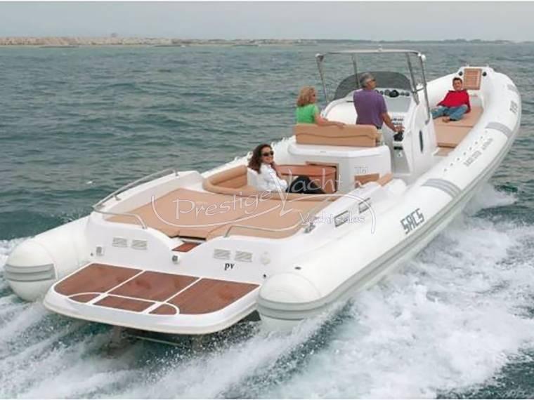 80f1f1a395 Sacs S 42 Stratos en Italie | Yacht à moteur d'occasion 59955 - iNautia