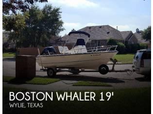 Boston Whaler 190 Outrage