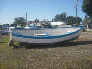 Custom Aldeburgh Beach Boat