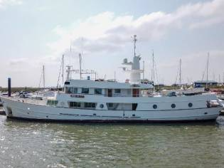 Hall Russell Long Range Motor Yacht