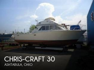 Chris-Craft 30 Tournament Fisherman
