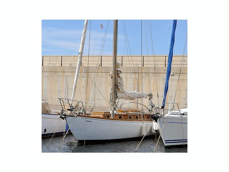 Frank Paine Design En Majorque Yacht Voile D 39 Occasion 66517 Inautia