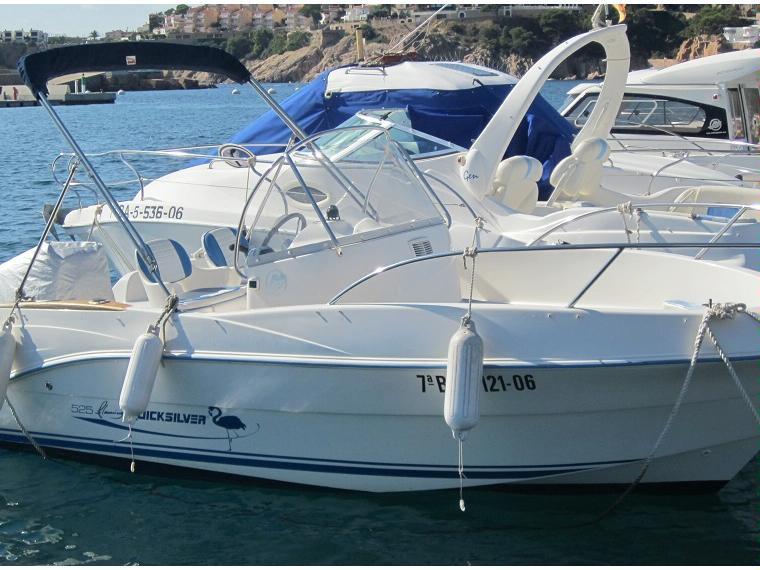 quicksilver 525 flamingo open en cn st feliu de guixols bateaux open d 39 occasion 56526 inautia. Black Bedroom Furniture Sets. Home Design Ideas