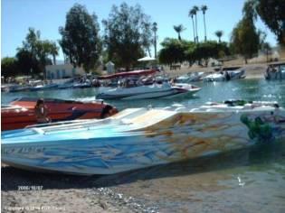 Aftershock Power Boats Violator
