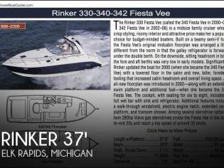 Rinker 342 Fiesta Vee