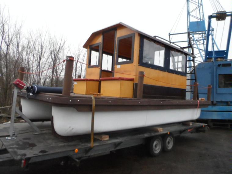 woma mini hausboot flisak 6 en allemagne bateaux moteur d 39 occasion 91015 inautia. Black Bedroom Furniture Sets. Home Design Ideas