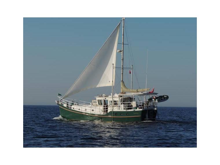 trawler yacht 44 diesel duck en malta