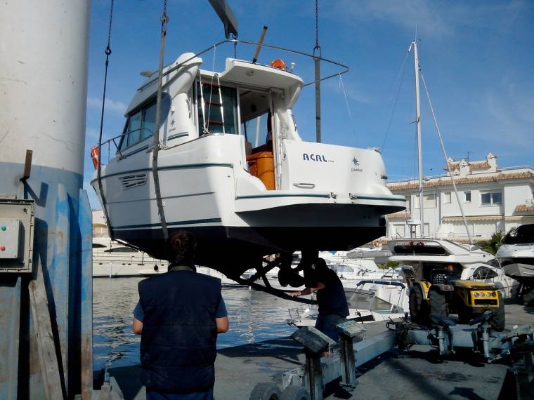 jeanneau merry fisher 805 en port roses