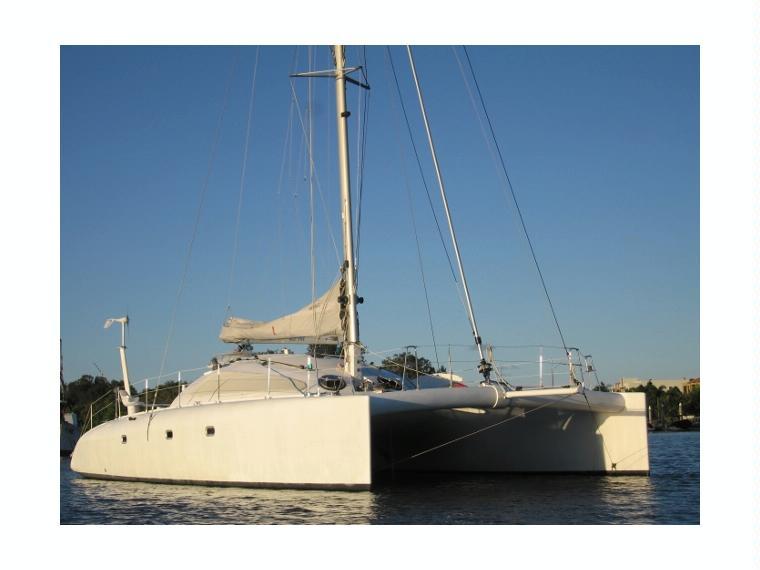 Design Erik Lerouge Barramundi 470 En Marina Saidia Catamarans Voile D 39 Occasion 56666 Inautia
