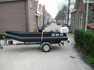 PE Boat Rabbinge 435 Console boot