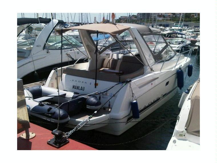 jeanneau leader 8 en marina d emp riabrava bateaux. Black Bedroom Furniture Sets. Home Design Ideas