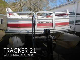 Tracker Party Barge 21