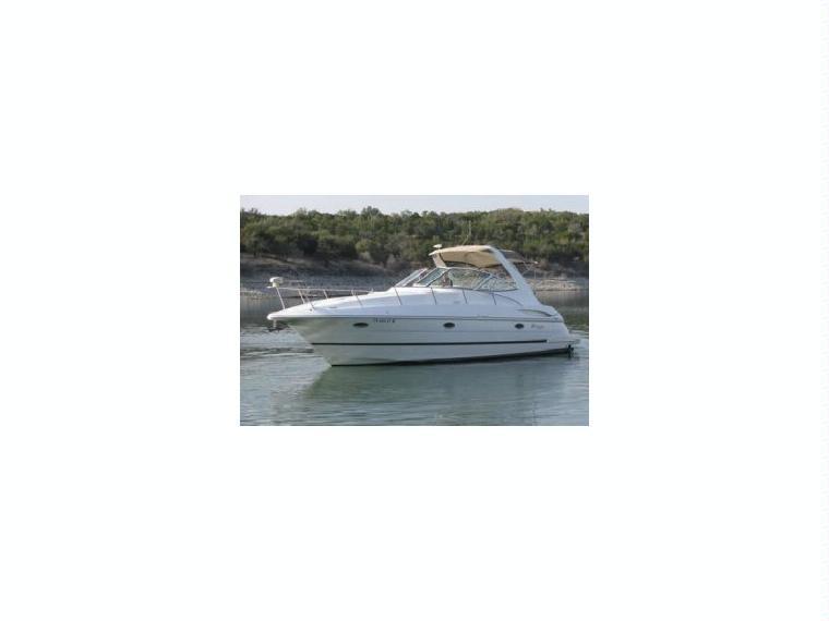 cruiser yacht 3470 express en port santa lucia