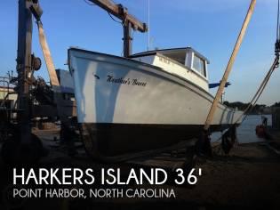 Harkers Island 36 Work Boat