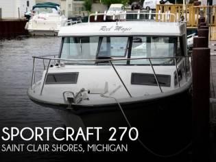 Sportcraft 270 Fisherman