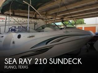Sea Ray 210 Sundeck