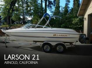 Larson 210 SEI Fish and Ski