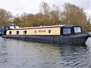 Wide Beam Narrowboat Collingwood 60 x 10 Baby Euro