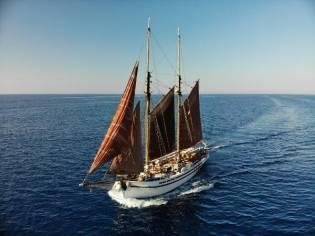 Classic schooner