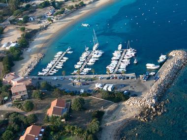 Port de Porto-Pollo Corse