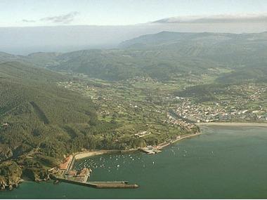 Puerto de Cedeira La Corogne