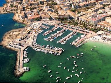 Puerto Colonia Sant Jordi Majorque