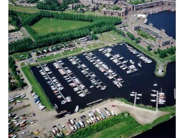 Jachthaven van W.S.V. Almere Haven Flevoland
