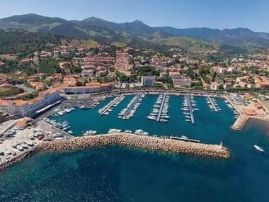 Port de Banyuls sur Mer Pyrénées-Orientales