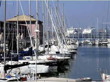 Marina Porto Antico di Genova Ligurie
