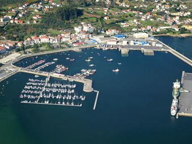 Puerto de A Pobra do Caramiñal La Corogne