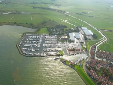 Jachthaven Hindeloopen Friesland
