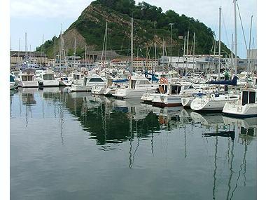 Puerto deportivo de  Getaria Guipúzcoa