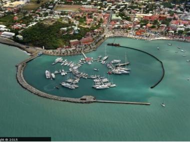 St. Martin - Marina Fort Louis Antilles Néerlandaises