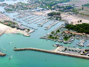 Port de Saint Cyprien Pyrénées-Orientales