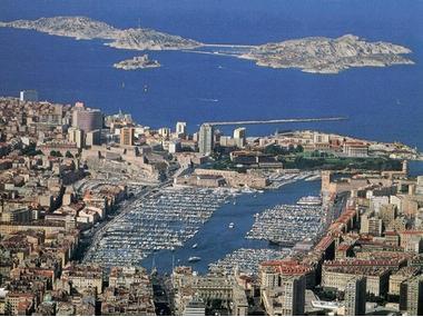 Port Vieux de Marseille Bouches-du-Rhône