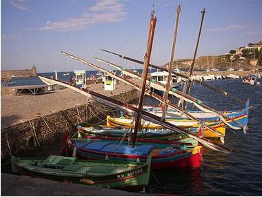 Port de plaisance de Collioure Pyrénées-Orientales