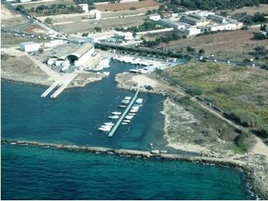 Porto Gaio di Gallipoli Apulie