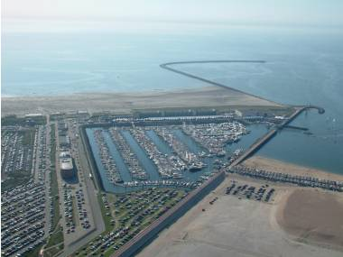 Seaport Marina IJmuiden Hollande (Pays-Bas)