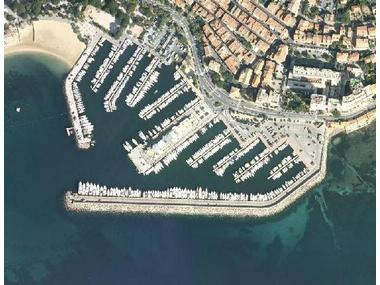Port de Sainte Maxime Var