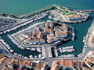 Port de Saint Martin de Ré Charente Maritime