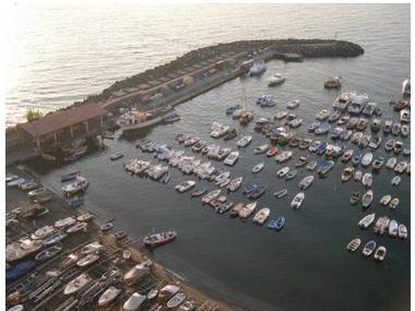 Porticciolo di Marina di Cassano (Piano di Sorrento) Campanie