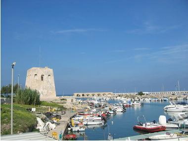 Marina di San Foca di Melendugno Apulie