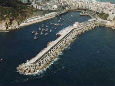 Puerto de Malpica La Corogne