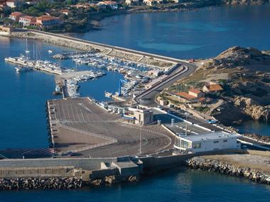 Port de l'Ile Rousse Corse