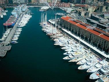 Marina Molo Vecchio Ligurie
