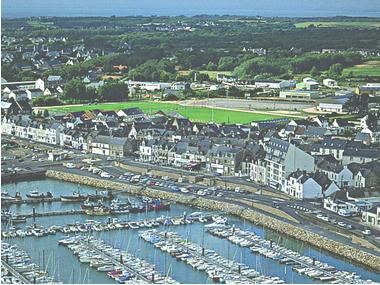 port de plaisance de La Turballe Loire Atlantique